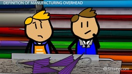 Manufacturing Overhead: Definition, Formula & Examples