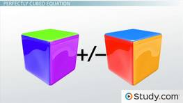 How to Solve Perfectly Cubed Equations