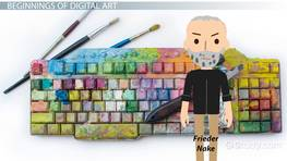 What is Digital Art? - Definition, History & Examples
