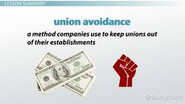 Union Avoidance: Reasons, Factors & Strategies