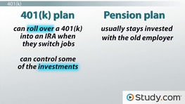 Understanding Retirement and Pension Plans