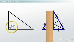 Using Sine to Find the Area of a Triangle