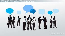 One-Way Communication: Definition & Examples