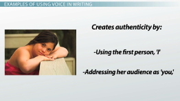 Voice in Writing: Definition & Examples
