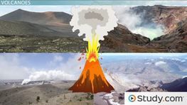 Volcanic Landforms: Types & Formation