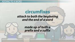 Circumfixes in English: Definition & Examples