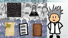 Factor Analysis: Confirmatory & Exploratory