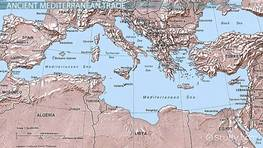 Mediterranean Sea Trade: Origins & Routes
