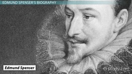 Edmund Spenser: Biography & Sonnets
