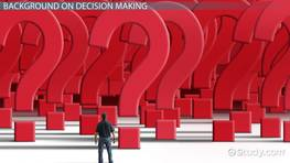 Decision Making: Legal & Ethical Perspectives