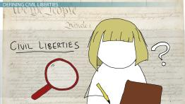 What are Civil Liberties? - Definition, Examples & Cases