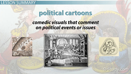 What are Political Cartoons? - History & Analysis