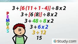 What Is The Order of Operations in Math? - Definition & Examples