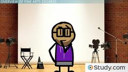 What Can I Do with a Fine Arts Degree? - Typical Courses & Careers