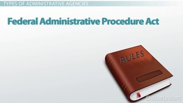 What Is Administrative Law? - Definition & Examples
