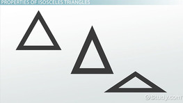What is an Isosceles Triangle? - Definition, Properties & Theorem