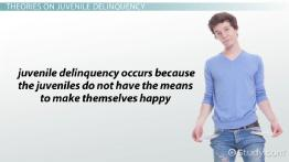 What Is Juvenile Delinquency? - Definition, Theories & Facts