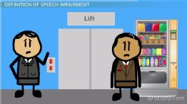 What is Speech Impairment? - Definition, Causes & Characteristics