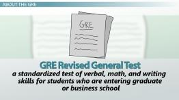 What is the GRE?
