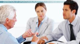 What Are Operational Plans for a Business? - Definition, Types & Examples