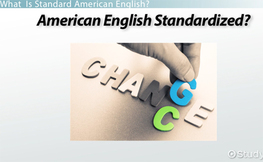 Standard American English: Usage & Language Conventions