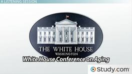 White House Conferences on Aging: 1961, 1971, 1981 & 2005