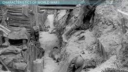 World War I: Causes, Characteristics & Effects