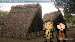 The Stone Age: Shelters, Huts & Houses