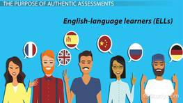Authentic Assessment Examples for English Language Learners