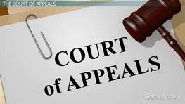 What Is the Court of Appeals? - Definition, Jurisdiction & Decisions