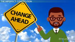 Formal vs. Informal Constitutional Changes: Definition & Examples