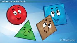 Diamond Shapes: Lesson for Kids