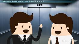 The Company Description as an Extended Elevator Pitch