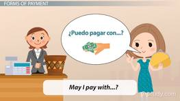 Spanish Vocabulary for Money & Payment