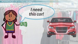 Free Market: Definition, Advantages & Examples