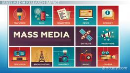 What is Mass Media Research? - Definition & Examples