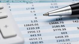 What Are Company Financial Statements? - Definition, Analysis & Examples