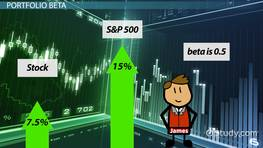 Using the Systematic Risk Principle & Portfolio Beta