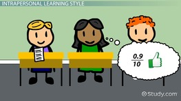 Intrapersonal Learning Style: Teaching Tips