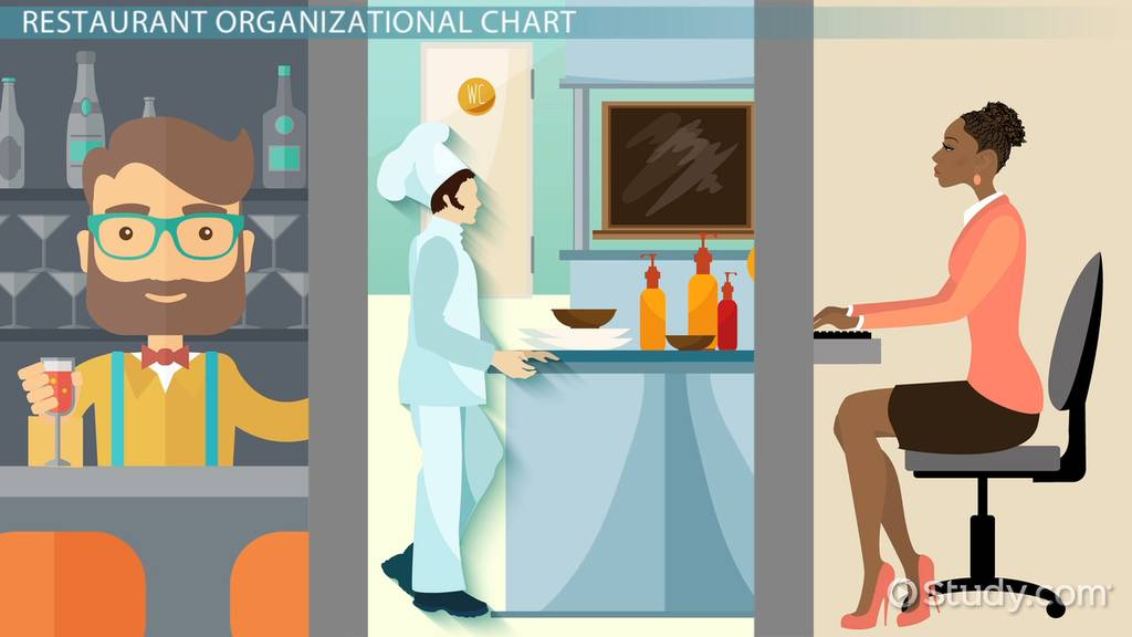 restaurant organizational chart  template  u0026 sample