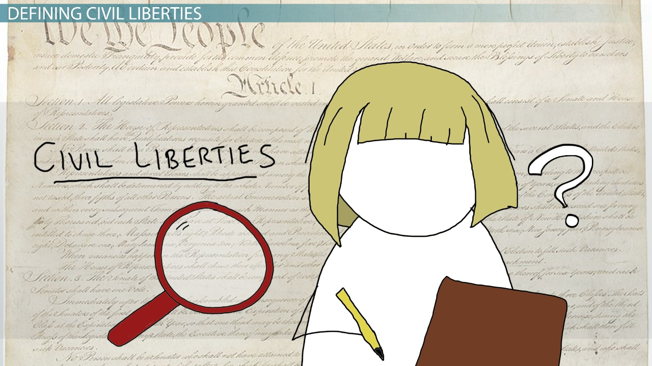 What are Civil Liberties? - Definition, Examples & Cases - Video ...