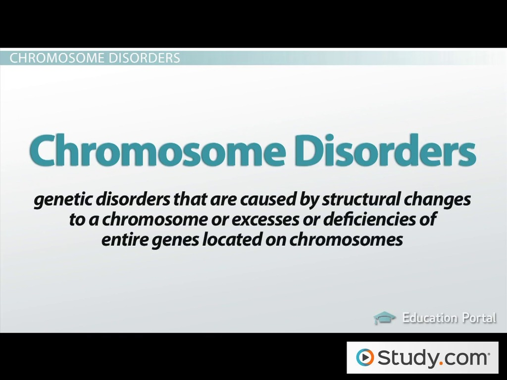What Are Genetic Disorders Definitions Descriptions Video