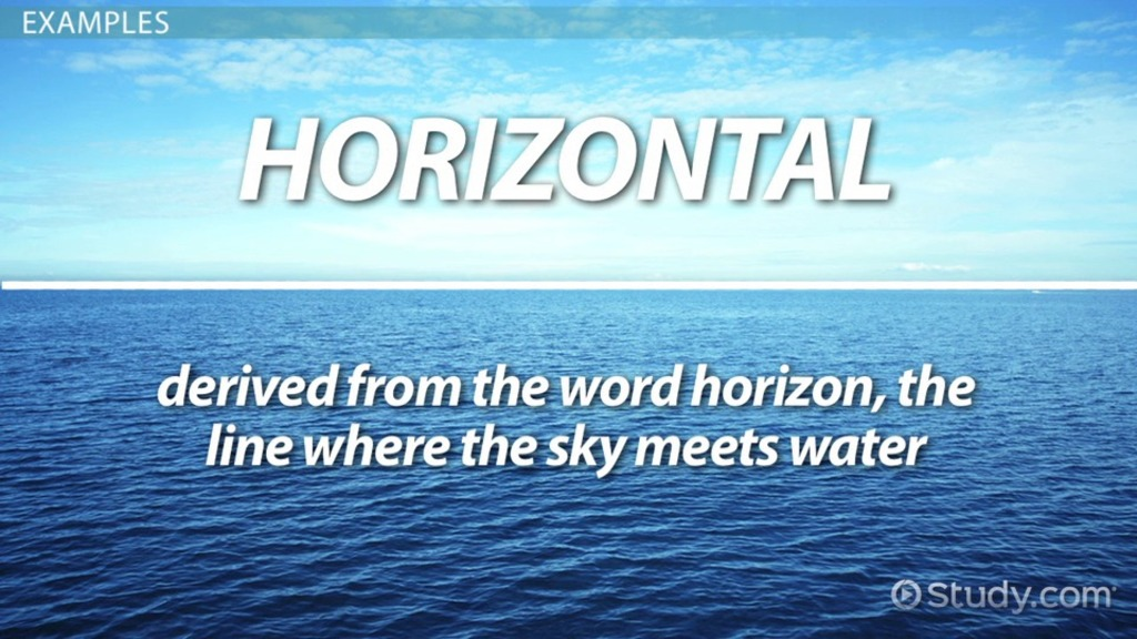 Straight Line Meaning In Art : What are horizontal lines definition equations