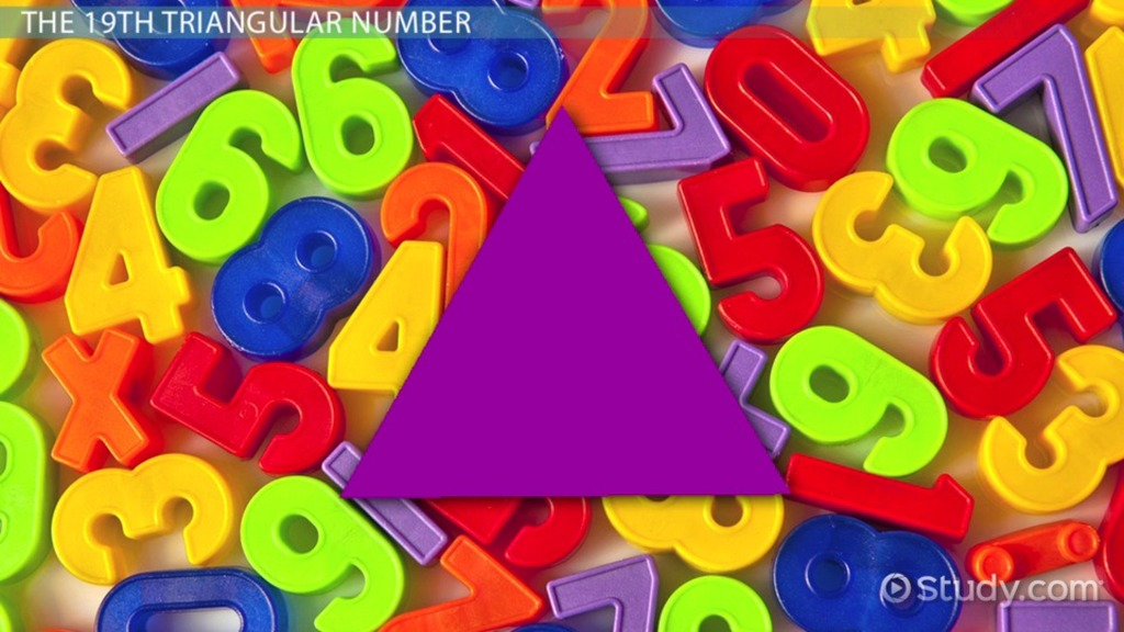 what are triangular numbers definition formula examples