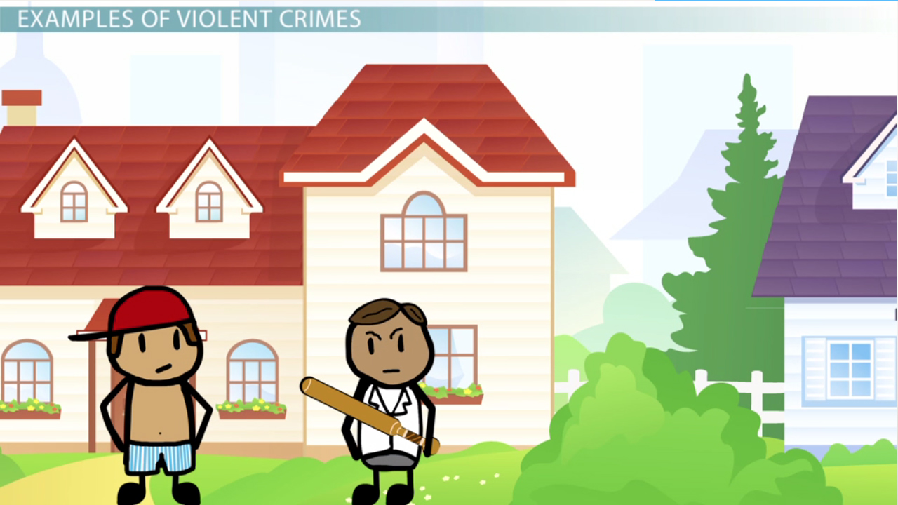What Are Violent Crimes? - Definition, Types & Examples