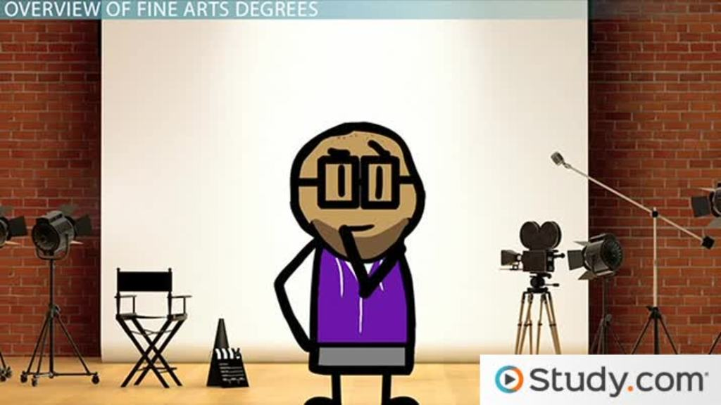 What Can I Do With A Fine Arts Degree Typical Courses Careers