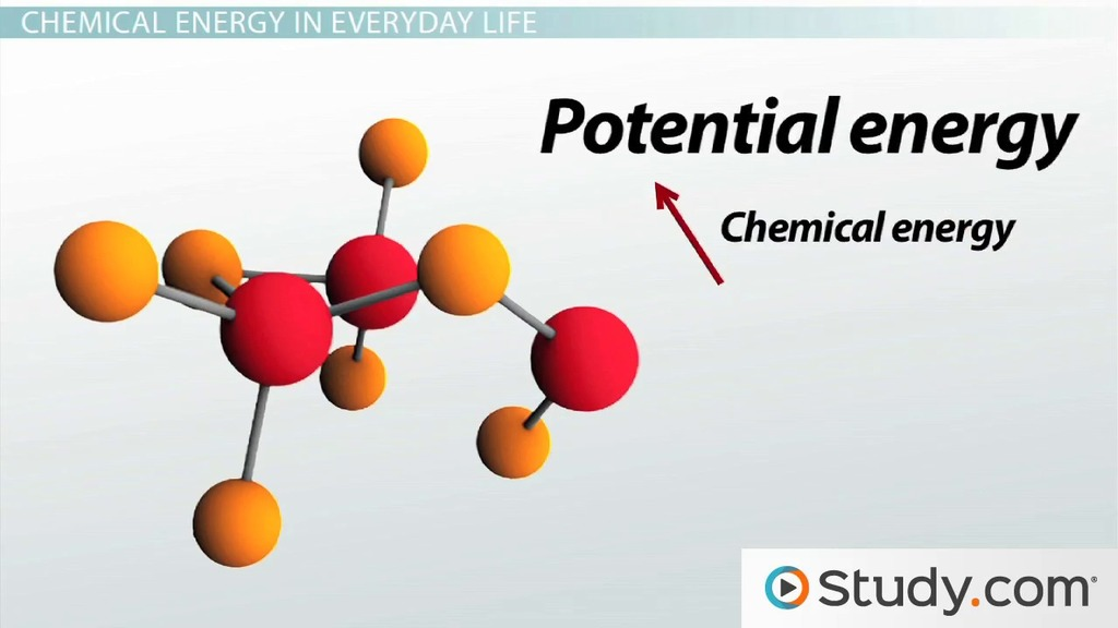 What Is Chemical Energy Definition Examples Video Lesson