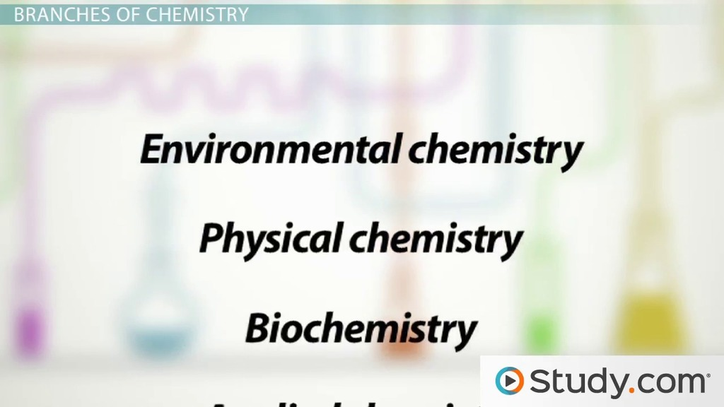 What Is Chemistry Definition History Branches Video Lesson