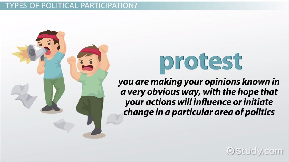 What Is Political Participation Definition Forms