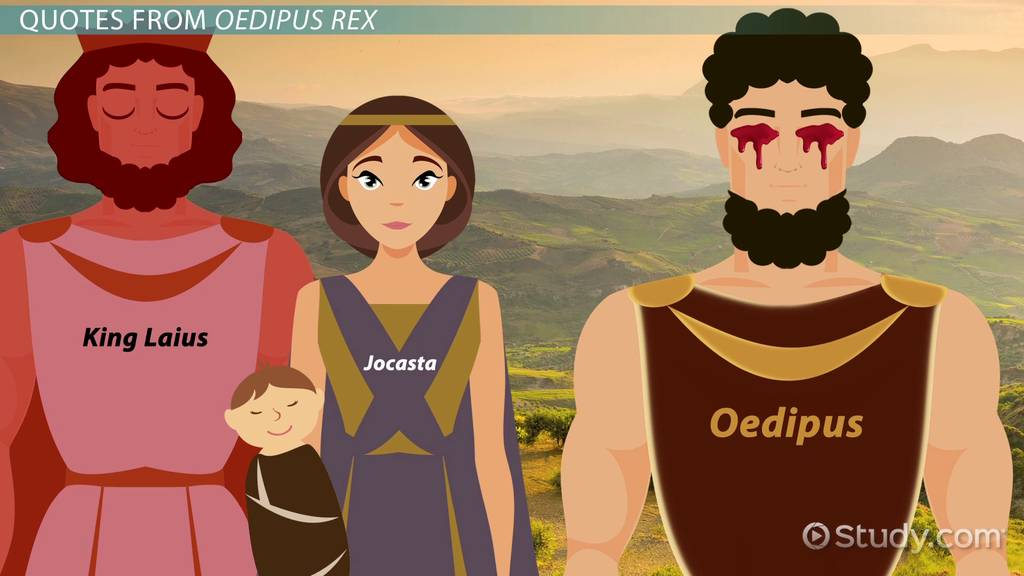 Symbolism In Oedipus The King Video Lesson Transcript Study